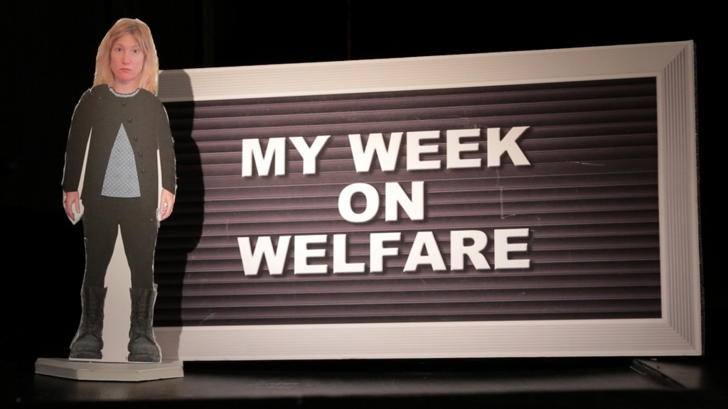 My Week On Welfare - a documentary with Jackie Torrens