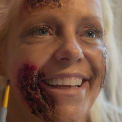Diana Zombie Makeup